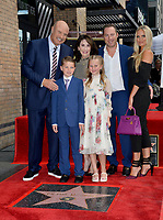 LOS ANGELES, CA. February 21, 2020: Dr. Phil McGraw, Robin McGraw, Jay McGraw, Erica Dahm, London Philip McGraw & Avery Elizabeth McGraw at the Hollywood Walk of Fame Star Ceremony honoring Dr Phil McGraw.<br /> Pictures: Paul Smith/Featureflash