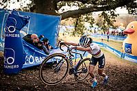 CX World Champion Ceylin del Carmen Alvarado (NED/Alpecin-Fenix)<br /> <br /> Koppenbergcross 2020 (BEL)<br /> women's race<br /> <br /> ©kramon