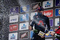 Tom Pidcock (GBR/Ineos Grenadiers) wins his very first elite road race<br /> <br /> 61st Brabantse Pijl 2021 (1.Pro)<br /> <br /> 1 day race from Leuven to Overijse (BEL/202km)<br /> <br /> ©kramon