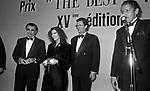 STEFANIA SANDRELLI<br /> PREMIO THE  BEST PARIGI 1990