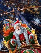 Marcello, CHRISTMAS SANTA, SNOWMAN, WEIHNACHTSMÄNNER, SCHNEEMÄNNER, PAPÁ NOEL, MUÑECOS DE NIEVE, paintings+++++,ITMCXM2154B,#x#