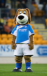 St Johnstone v Hearts…10.08.16..  McDiarmid Park…BetFred Cup<br />Saints mascot Brogan<br />Picture by Graeme Hart.<br />Copyright Perthshire Picture Agency<br />Tel: 01738 623350  Mobile: 07990 594431