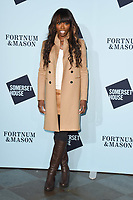 Lorraine Pascale<br /> arriving for the Skate at Somerset House 2017 opening, London<br /> <br /> <br /> ©Ash Knotek  D3351  14/11/2017