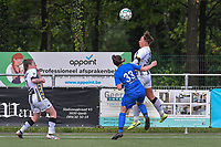 Megane Vos (16) of Sporting Charleroi pictured during a female soccer game between Sporting Charleroi and Eendracht Aalst on the 8th matchday in play off 2 of the 2020 - 2021 season of Belgian Scooore Womens Super League , tuesday 18 th of May 2021 in Marcinelle , Belgium . PHOTO SPORTPIX.BE | SPP | STIJN AUDOOREN