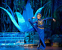 """© Jane Hobson. 12/04/2011. The Diaghilev Season opens with the UK premiere of """"The Blue God"""" at the London Coliseum. Ilze Liepa as 'The Goddess of Lotus'. Picture credit should read: Jane Hobson"""