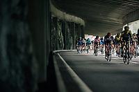 peloton tunnel-descending<br /> <br /> Stage 5: Gstaad > Leukerbad (155km)<br /> 82nd Tour de Suisse 2018 (2.UWT)