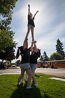 Royalty Elite Cheerleading, Auburn Days Parade & Festival 2016, Auburn, WA, USA.