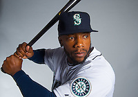 Feb 26, 2015; Peoria, AZ, USA; Seattle Mariners infielder Rickie Weeks poses for a portrait during photo day at Peoria Stadium. Mandatory Credit: Mark J. Rebilas-USA TODAY Sports