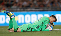 Calcio, finale Tim Cup: Milan vs Juventus. Roma, stadio Olimpico, 21 maggio 2016.<br /> Juventus' goalkeeper Neto grabs the ball during the Italian Cup final football match between AC Milan and Juventus at Rome's Olympic stadium, 21 May 2016.<br /> UPDATE IMAGES PRESS/Isabella Bonotto