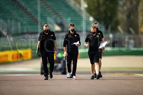30th October 2020, Imola, Italy; FIA Formula 1 Grand Prix Emilia Romagna, inspection day; Romain Grosjean FRA 8, Haas F1 Team