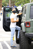 Derek Hough Spotted At The Farmers Market In Hollywood