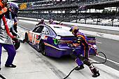 #11: Denny Hamlin, Joe Gibbs Racing, Toyota Camry FedEx Possibilities