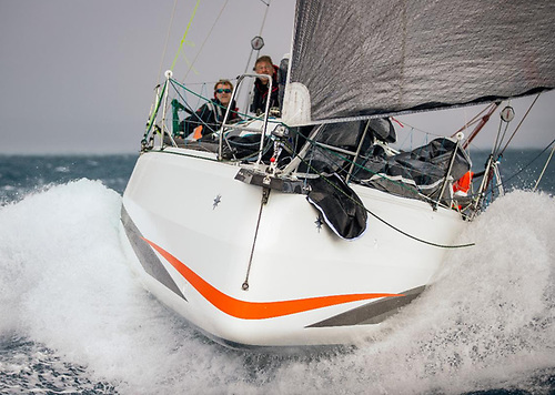 Sebastien Saulnier's Sun Fast 3300 Moshimoshi Photo: James Mitchell/RORC