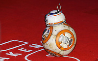 BB-8 Droid on the red carpet during the STAR WARS: 'The Force Awakens' EUROPEAN PREMIERE at Odeon, Empire & Vue Cinemas, Leicester Square, England on 16 December 2015. Photo by David Horn / PRiME Media Images