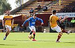 27.09.2020 Motherwell v Rangers:  Cedric Itten scores goal no 4 for Rangers