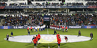 Cary, N.C. - Tuesday March 27, 2018:  USMNT and Paraguay starting line up'sduring an International friendly game between the men's national teams of the United States (USA) and Paraguay (PAR) at Sahlen's Stadium at WakeMed Soccer Park.