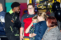 Pictured: Nathan Dyer of Swansea City during the Swansea player and fans bowling evening at Tenpin Swansea, Swansea, Wales, UK. Wednesday 22 January 2020