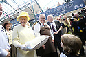 24 June 2014: Offical Pictures of the Queen visiting St.Georges Market Belfast