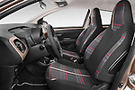 Front seat view of a 2014 Peugeot 108 Allure 5 Door Micro Car 2WD Front Seat car photos