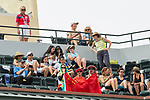 March 13, 2018: Fans out to support Qiang Wang (CHN) who was defeated by Simona Halep (ROU) 7-5, 6-1 at the BNP Paribas Open played at the Indian Wells Tennis Garden in Indian Wells, California. ©Mal Taam/TennisClix/CSM