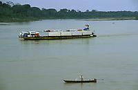 foz do rio Jamari no rio Madeira - Rondônia<br />dezembro de 2003