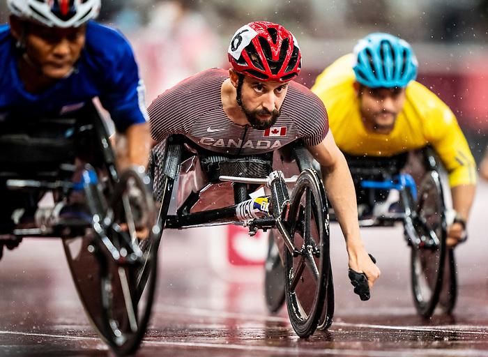 Brent Lakatos, Tokyo 2020 - Para Athletics // Para-athlétisme.<br /> Brent Lakatos competes in the men's 800m T53 final // Brent Lakatos participe à la finale masculine du 800 m T53. 02/09/2021.