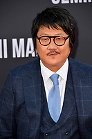 "LOS ANGELES, USA. October 07, 2019: Benedict Wong at the premiere of ""Gemini Man"" at the TCL Chinese Theatre, Hollywood.<br /> Picture: Paul Smith/Featureflash"
