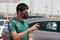 26th March 2021; Sakhir, Bahrain; F1 Grand Prix of Bahrain, Free Practice sessions;  STROLL Lance (can), Aston Martin F1 AMR21,  during Formula 1 Gulf Air Bahrain Grand Prix