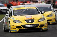 Round 4 of the 2007 British Touring Car Championship. #11 Jason Plato (GBR). SEAT Sport UK. SEAT Leon.
