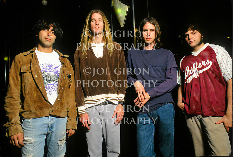Various portrait sessions of the rock band, Fu Manchu.