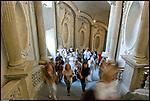 Lo scalone di Palazzo Carignano