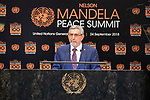 Opening Plenary Meeting of the Nelson Mandela Peace Summit<br /> <br />  ???????