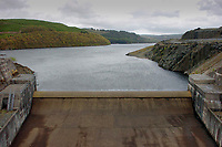"Pictured: Llyn Brianne in mid Wales, UK. STOCK PICTURE<br /> Re: Rescuers had to climb down the side of a reservoir to check if anyone was inside the old shell of a Ford Sierra car that was exposed after water levels dropped.<br /> Brecon Mountain Rescue Team were called by Dyfed Powys Police to investigate the strange discovery at Llyn Brianne Reservoir.<br /> Volunteers used ropes to get to and inspect the car.<br /> The service tweeted: ""The vehicle had been there for many years & (more importantly) was unoccupied""."