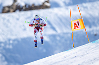 11th November 2020; Obergurgl, Austria; Hannes Reichelt of Austria during a free downhill training for the mens OeSV team in Obergurgl, Austria