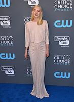 Saoirse Ronan at the 23rd Annual Critics' Choice Awards at Barker Hangar, Santa Monica, USA 11 Jan. 2018<br /> Picture: Paul Smith/Featureflash/SilverHub 0208 004 5359 sales@silverhubmedia.com