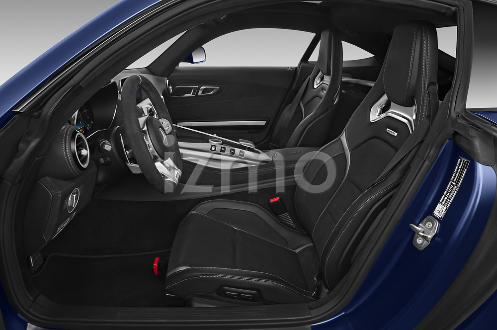 Front seat view of 2020 Mercedes Benz AMG-GT C 3 Door Coupe Front Seat  car photos