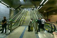 SÃO PAULO, SP, 08.04.2019: ESTAÇÃO CAMPO BELO -SP- O governador de São Paulo João Doria, inaugura a Estação Campo Belo da Linha 5-Lilás do Metrô, São Paulo, SP, nesta segunda-feira (08). (Foto: Marivaldo Oliveira/Código19)
