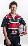 Hong Kong Junior Squad team member Kevin Field poses during the Official Photo Session Day at King's Park Sports Ground ahead the Junior World Rugby Tournament on 25 March 2014. Photo by Andy Jones / Power Sport Images