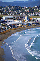 Lyall Bay in Wellington, New Zealand on Saturday, 11 September 2021. Photo: Dave Lintott / lintottphoto.co.nz