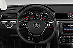 Car pictures of steering wheel view of a 2017 Volkswagen Passat R-Line 4 Door Sedan Steering Wheel
