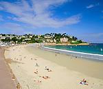 France, Brittany, Département Côtes-d'Armor, Perros-Guirec: resort at Côte de Granit Rose   Frankreich, Bretagne, Département Côtes-d'Armor, Perros-Guirec: Badeort an der sogenannten Côte de Granit Rose