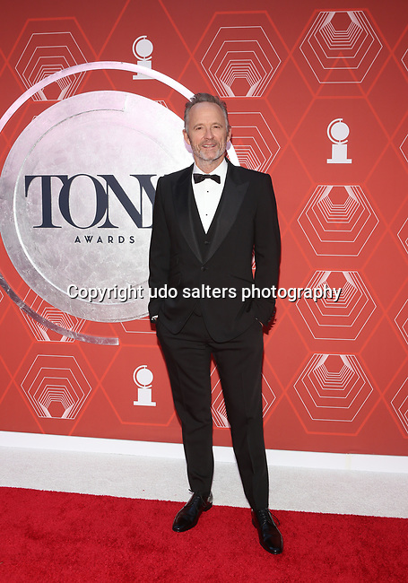 John Bengamin Hickey  attends the 74th Tony Awards-Broadway's Back! arrivals at the Winter Garden Theatre in New York, NY, on September 26, 2021. (Photo by Udo Salters/Sipa USA)
