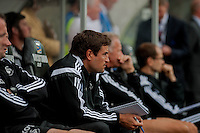Saturday 20th September 2014  Pictured:  Assistant-manager of of Swansea City  Pep Clote<br /> Re: Barclays Premier League Swansea City v Southampton  at the Liberty Stadium, Swansea, Wales,UK