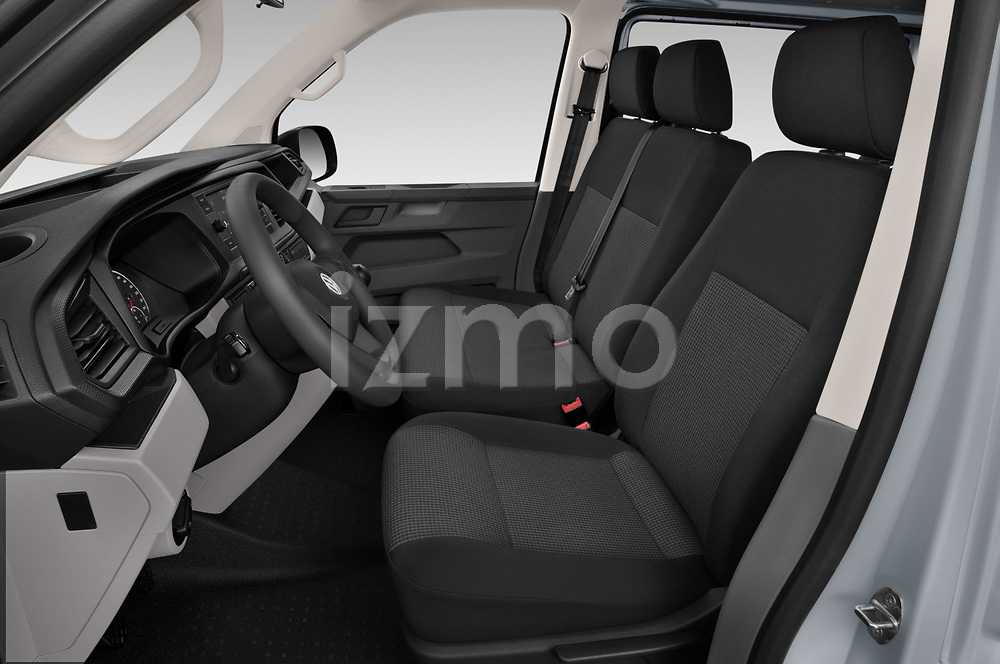 Front seat view of 2020 Volkswagen Transporter - 4 Door Passenger Van Front Seat  car photos