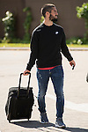 Arrival of the players of the Spanish football team squad for the Qualifying to European Championship in France at the Ciudad del Futbol of Las Rozas, Madrid. October 06, 2015<br /> In the image midfield player of Real Madrid, Isco.<br /> (ALTERPHOTOS/BorjaB.Hojas)