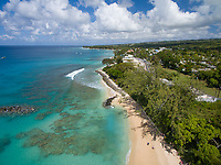 Beach near Holetown, St. James, Barbados
