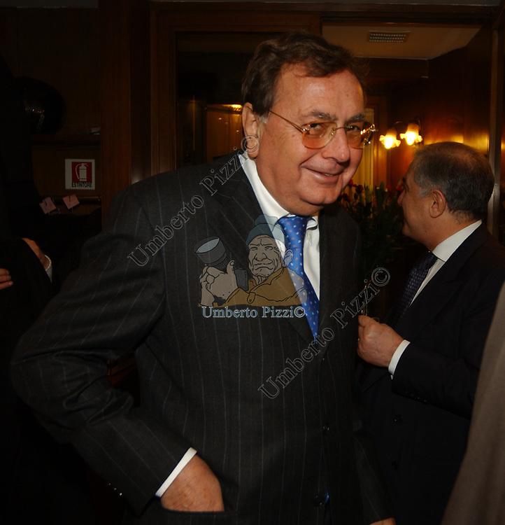 """PAOLO BONAIUTI<br /> 75° COMPLEANNO DI LINO JANNUZZI - """"DA FORTUNATO AL PANTHEON"""" ROMA 2003"""