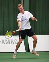 18-01-14,Netherlands, Rotterdam,  TC Victoria, Wildcard Tournament, ,   Glenn Smits (NED)   <br /> Photo: Henk Koster