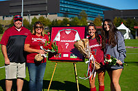 Georgia Bulldogs vs Arkansas Razorback Women's Soccer -   Madison Louk (7)<br />