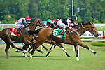 19 June 2010:  . Shared Account and Edgar Prado beat Dynaslew and Alan Garcia in the All Along Stakes (III) at Colonial Downs in New Kent, Va. Shared Account is owned by Sagamore Farm, trained by H. Graham Motion